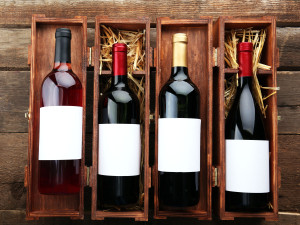 packing a collection of wine